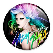 "Lady Gaga - Born This Way Colour Cover 25mm 1"" Pin Badge Button Music Artist"