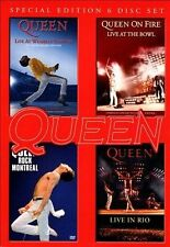 Live at Wembley Stadium 25th Anniversary Edition / Rock Montreal / Live In Rio /