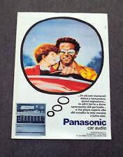 G236-Advertising Pubblicità - 1982 - PANASONIC CAR AUDIO
