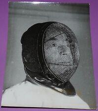 RARE PHOTO PRESSE 1939 PAUL REYNAUD EN ESCRIMEUR ESCRIME