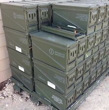 MILITARY 40mm METAL AMMO CAN STORAGE BOX 1310-01-572-0689