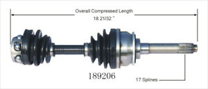 CV Axle Shaft fits 1996-1997 Isuzu Rodeo  WORLDPARTS CV AXLES