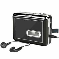 Cassette Player Portable Cassette Tape to MP3 Converter Cassette Recorder