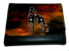 More details for whippet purse striking design whippet greyhound lurcher wallet thankyou gift