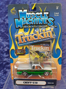 Funline Muscle Machines 2003 Truckin TM03-08 MOC Chevy S10