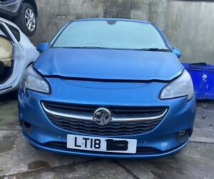 Vauxhall Corsa E 1.4 Energy 2018 Persian Blue Z22V Complete Front End Parts USED