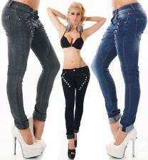 Jeans da donna in denim taglia 38