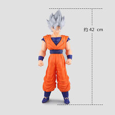 DRAGON BALL SUPER Z SUPER SAYAN GOD WHITE BIANCO GOKU 42 CM ACTION FIGURE ANIME