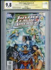 Justice League of America 0 - CGC 9.8 SS - Signed J. Scott Campbell 1:10 Variant
