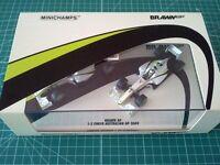 Jenson BUTTON - Rubens BARRICHELLO - MINICHAMPS 402092223 - BRAWN GP - FINISH