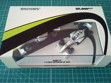 Jenson BUTTON - Rubens BARRICHELLO - MINICHAMPS 402092223 - BRAWN GP - FINISH