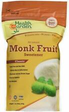 All Natural Classic Monk Fruit Sweetener, HEALTH GARDEN, 1 lbs