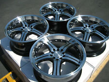 "17""  Wheel Rims 5x100 5x114.3 Toyota Corolla Matrix Prius Honda Accord Civic Si"