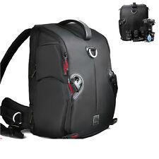 DSLR Camera Zaino Tracolla Borsa Impermeabile Custodia Nikon Canon EOS Sony+