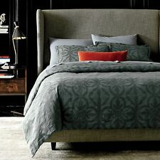 NIP DwellStudio Geneva Linen Blend Duvet Cover & Sham Set King $399 & $99