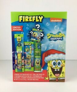 Firefly Limited Edition SpongeBob SquarePants Oral Care Set w/Powered Toothbrush