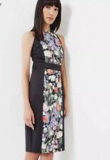 TED BAKER AKVA KENSINGTON FLORAL BODYCON DRESS  Size 4 (UK 14)