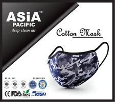 Premium Cotton Face Mask Reusable 5 Layers CE/FDA/NIOSH/ROHS/ISO Certified