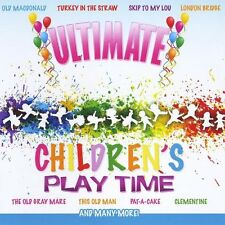 Kid's Players - Ultimate Children's Play Time [New CD]