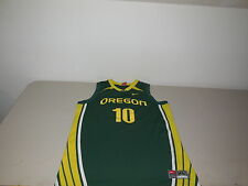 Nike Oregon Ducks Basketball Jersey Team Athletic NCAA Shirt Green UO Mens Large