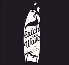 Hawaiian surf board catchthewave vinyl decal sticker euro jdb dub vw drôle jap