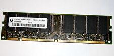 128 MB SD-RAM PC-100 non-ECC CL3 'Micron MT16LSDT1664AG-10CZ5