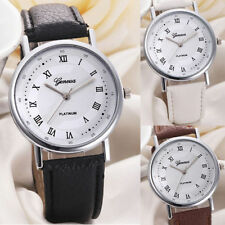 Luxury Unisex Round Wristwatches with 12-Hour Dial