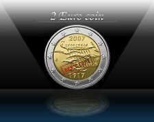 """FINLAND 2 EURO 2007 """" Independence """" Commemorative coin * UNCIRCULATED"""