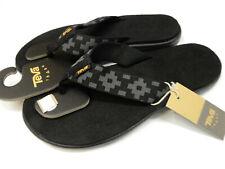 Teva Womens Voya Flip Maya Check Black Size 10