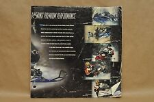 1999 Yamaha Vmax SRX Full Line Snowmobile Parts Accessories Catalog Brochure