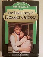 LIBRO FREDERICK FORSYTH - DOSSIER ODESSA  - BEST SELLER MONDADORI 1985