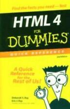 HTML 4 for Dummies Quick Reference-ExLibrary