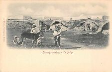 Tunis Tunisia Roman Cisterns Antique Postcard (J34678)