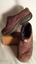 Merrell Primo Chill, Chocolate Leather, Shearling Lined Slides/Shoes, Womens 7.5