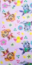 Paw Patrol Skye Wrapping Paper Gift Book Cover Party Wrap Birthday Everest Pink