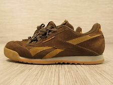 Reebok Brown Suede Leather Shoes Women's Size US 9 EUR 40 Lace Up Sneakers