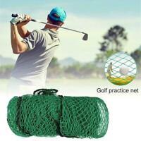 Golf Net Practice Training Aid Driving Impact Screen Sport Netting Duty M7X5
