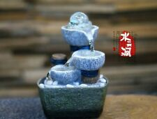 Fountain Water Features Feng Shui Wheel Desktop Decoration Home Decor Household
