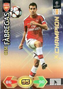 Champions League Super Strikes 09/10 Cesc Fabregas Champion