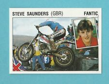 MOTOR CYCLING - PANINI - SUPERSPORT STICKER NO. 127 -  STEVE  SAUNDERS   (G.B.)