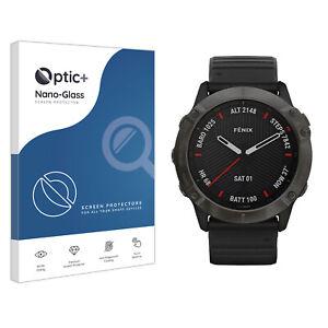 Optic+ Nano Glass Screen Protector for Garmin Fenix 6X Pro