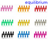 10 x ANODISED COLOURED ALLOY BIKE CYCLING BRAKE GEAR INNER WIRE CABLE END CAPS