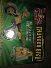 Mighty Morphin Power Rangers ~ Thunder Bike With Yellow Ranger (Bandai 1994) NEW