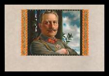 GERMAN EMPEROR KAISER WILHELM II  CIGAR BOX LITHO LABEL