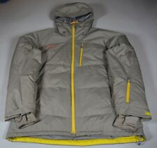Mammut Slope Jacket - Size XL* - Gray with Green Accent zippers