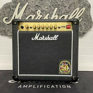 Marshall 2013 JVM1C 50th Anniversary 1x8 Combo w/ original box, f/sw and papers