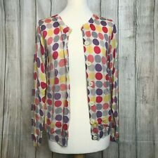 Stunning Spotted BODEN Wool Cardigan Size 14 VGC