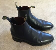 RM WILLIAMS BLACK BOOTS SIZE 9.5 H