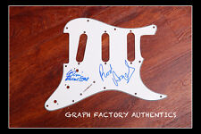 GFA Colin Blunstone Band * THE ZOMBIES * Signed Electric Pickguard COA