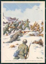 Militari Propaganda WWII WW2 Fronte Greco Grecia Sgrilli FG cartolina XF7321